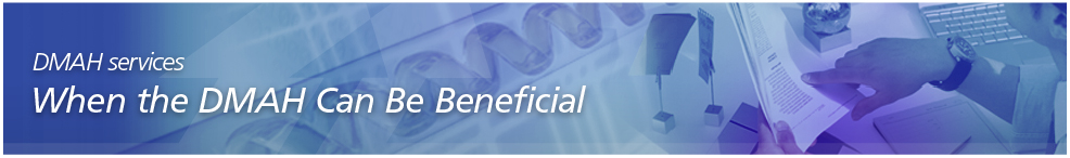 DMAH services for pharmaceuticals, medical devices and IVDs